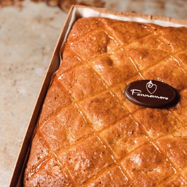 Cake integrale all'arancia e zenzero