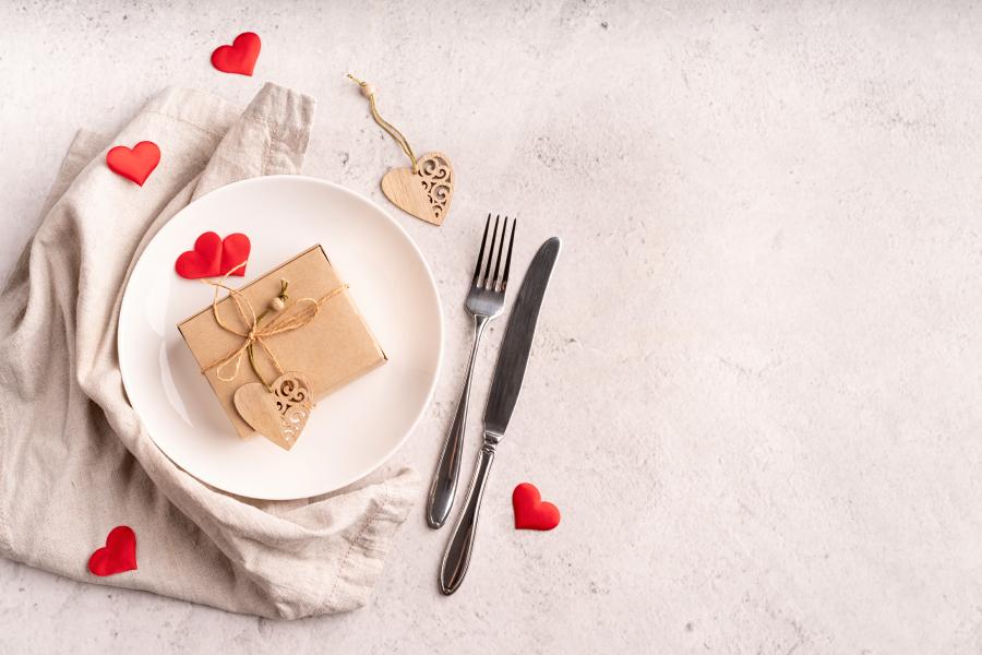 Menu San Valentino a casa