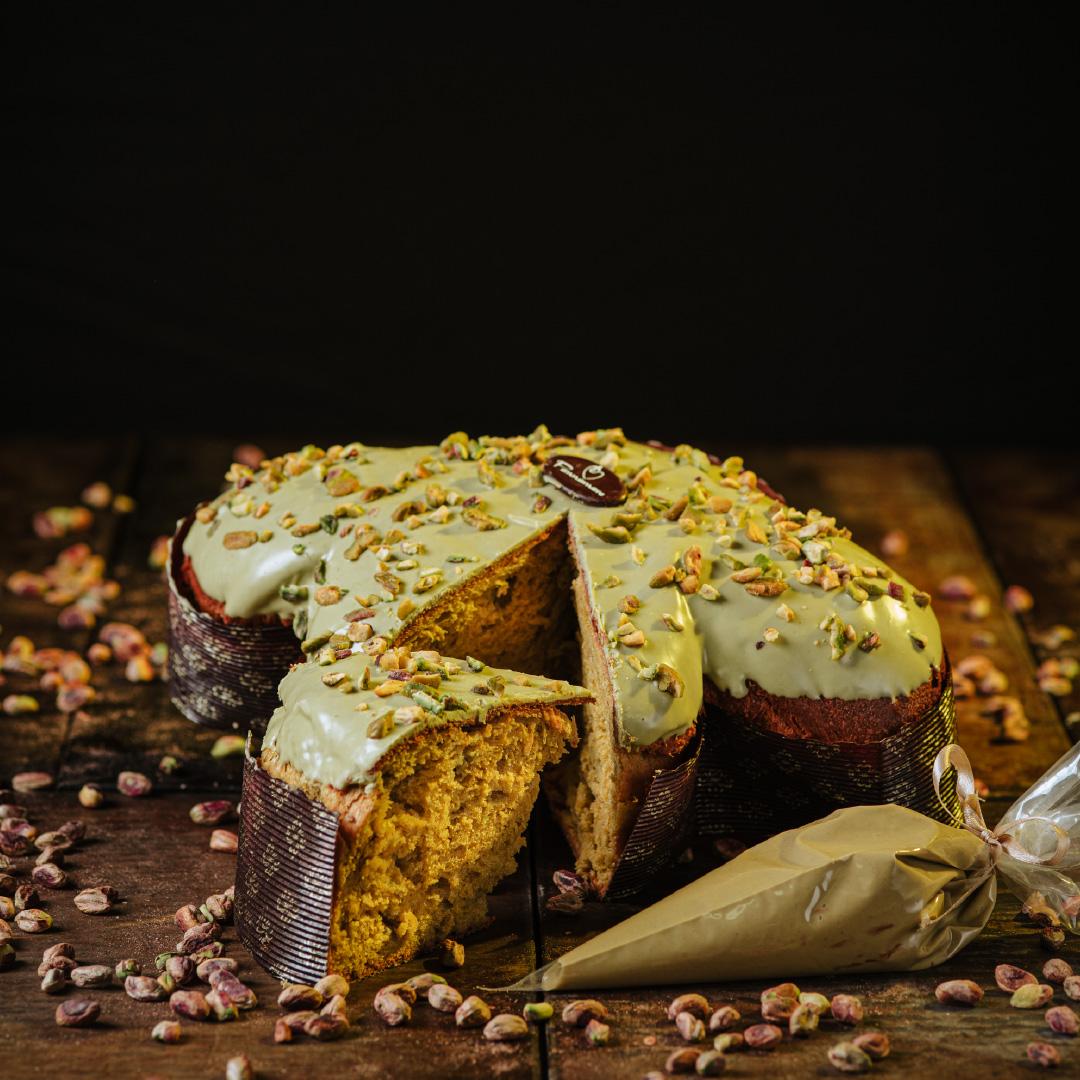 Colomba artigianale al pistacchio